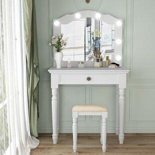 Bathroom Makeup Table   Wayfair