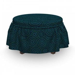 Reupholster Round Ottoman