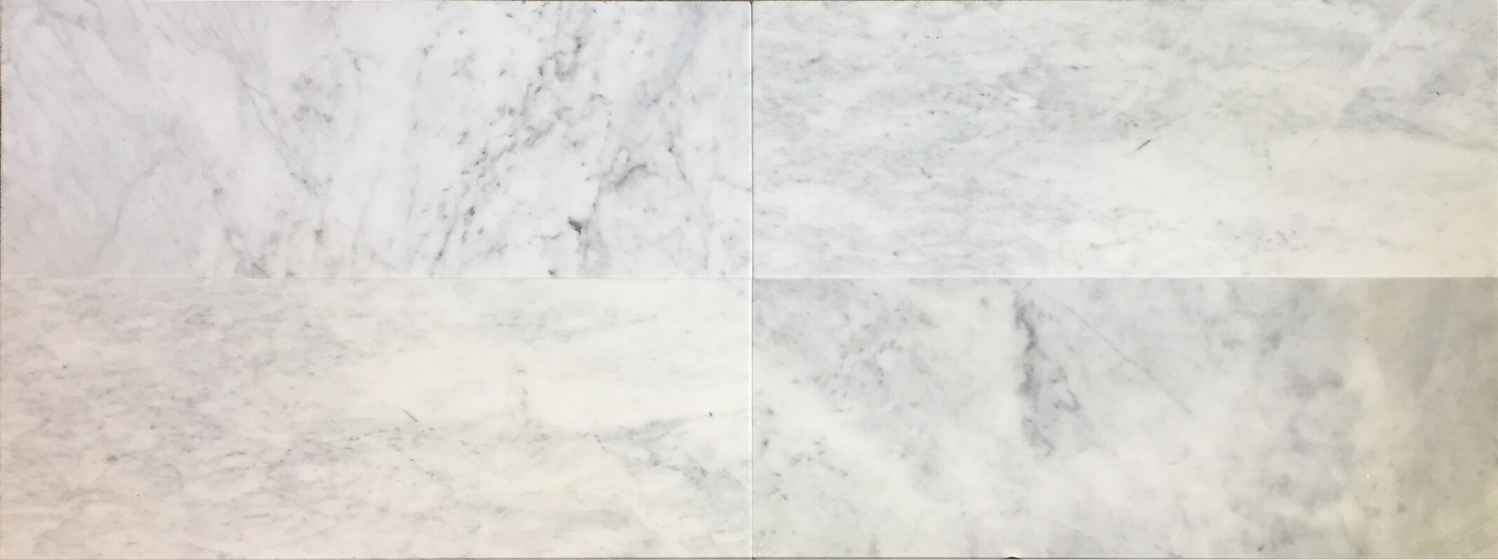 4 X 24 Carrara Marble Bullnose Field Tile In
