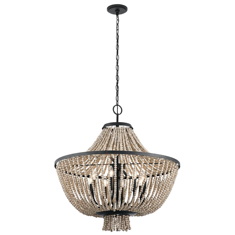 Lark manor capillaire 8 light crystal chandelier wayfair aloadofball Choice Image
