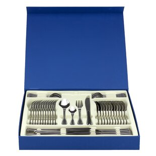 Cordoba 48 Piece Stainless Steel Flatware Set, Service for 12