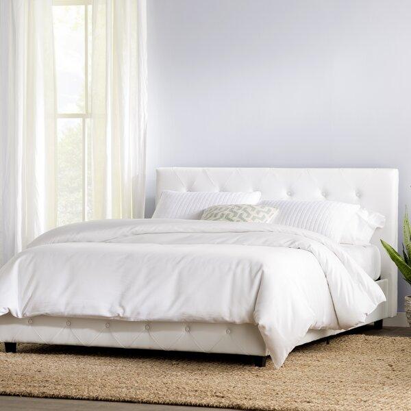 Off White Upholstered Bed | Wayfair