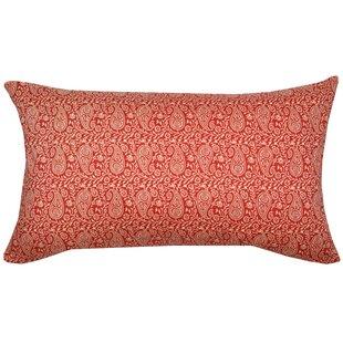 Bandana Cotton Lumbar Pillow