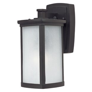 Compare prices Fielden Outdoor Wall Lantern By Latitude Run