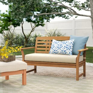 Calila Teak Loveseat with Cushion