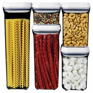 Good Grips Pop 5 Container Food Storage Set
