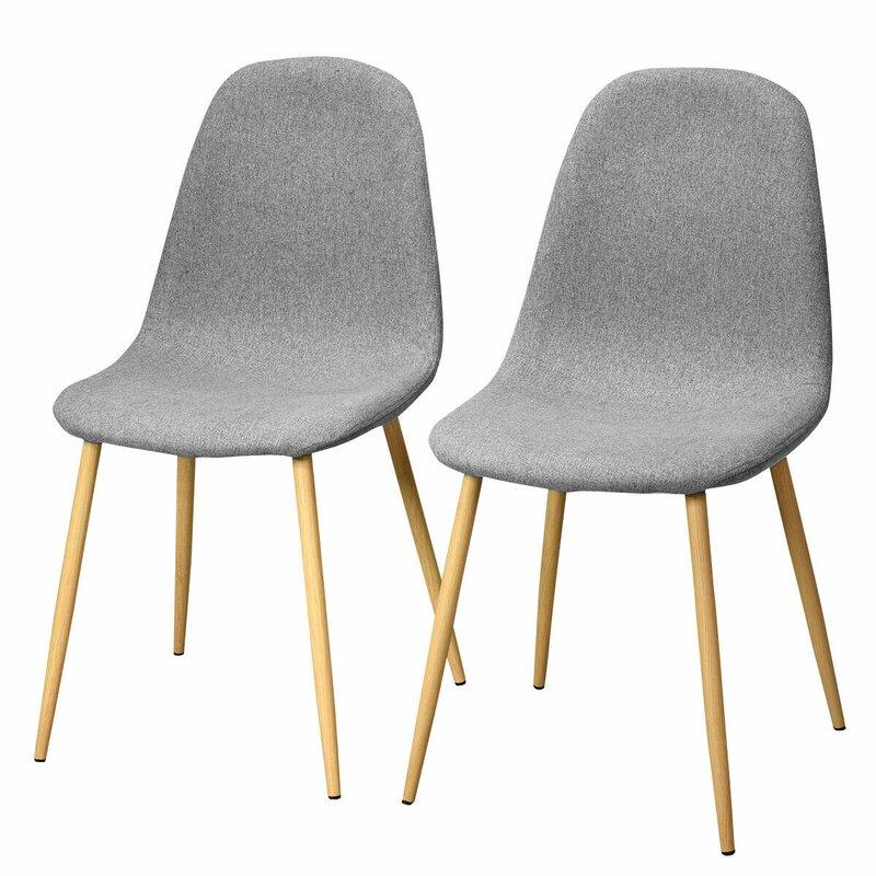 Corrigan Studio Bridgers Upholstered Dining Chair (Set of 2)