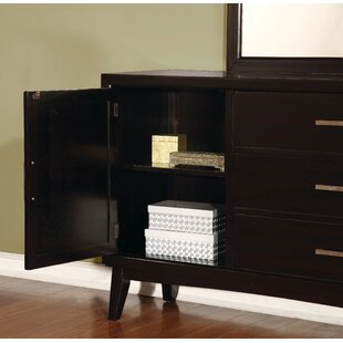 Jacob 3 Drawer Combo Dresser with Mirror