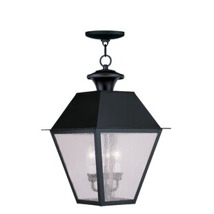 Top Reviews Cynda 3-Light Outdoor Hanging Lantern By Darby Home Co