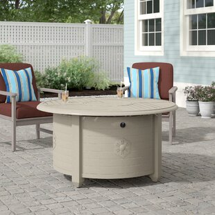 Naragansett Aluminum Propane Fire Pit Table by Beachcrest Home Best Choices