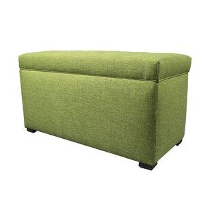 MJL Furniture Key Largo Wood Storage Bench