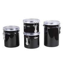 Black Kitchen Canisters Jars You Ll Love In 2021 Wayfair