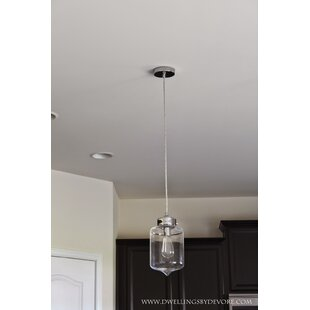 Wildon Home ® Casey 1-Light Cylinder Pendant