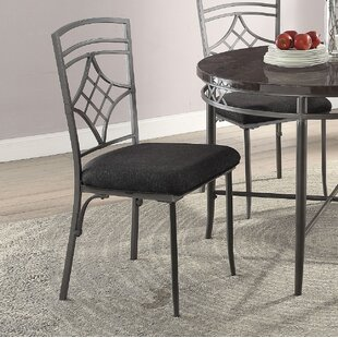Ceasar Dining Chair (Set of 2) Fleur De Lis Living