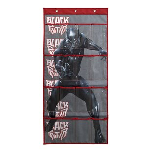 Read Reviews Marvel Black Panther 8Pair Overdoor Shoe Organizer ByEverything Mary