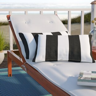 Stonebridge Indoor/Outdoor Sunbrella Lumbar Pillow (Set Of 2) by Beachcrest Home Modern