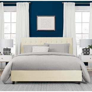 Wade Logan Littrell Upholstered Platform Bed
