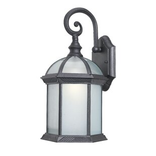 Compare prices Glenwood 1-Light Outdoor Wall Lantern By Woodbridge Lighting
