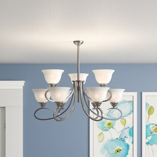 Canaday 9-Light Shaded Chandelier by Winston Porter
