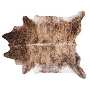brindle hand woven cowhide blackbrown area rug - Cow Hide Rug