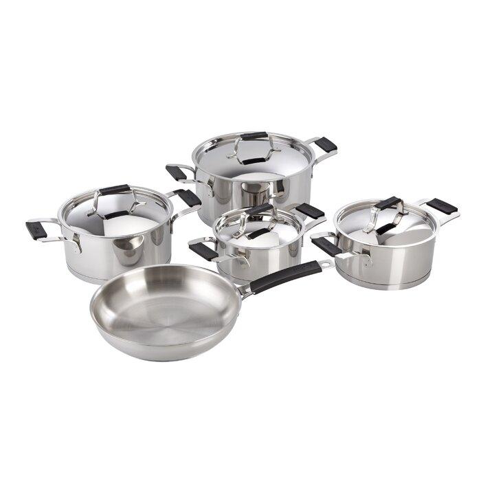 Magefesa Premier Stainless Steel 9 Piece Cookware Set