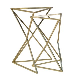 Gelmen 2 Piece Nesting Table