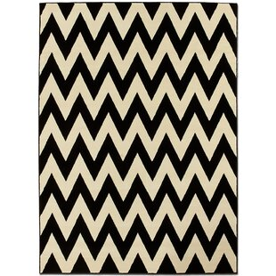 Black/Beige Area Rug By AllStar Rugs