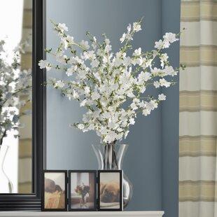Cherry Blossoms Arrangement with Vase