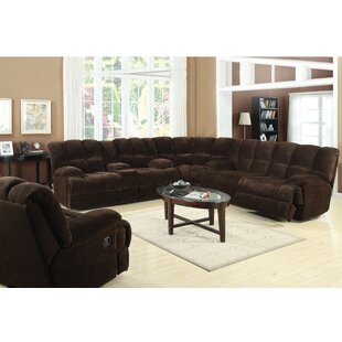 Shop Makowski Reclining Sectional by Red Barrel Studio