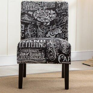 August Grove Savane Slipper Chair