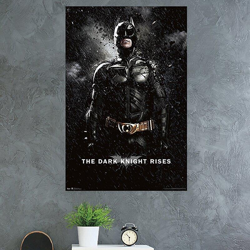 2 X Personalised Batman Bain Birthday Banner