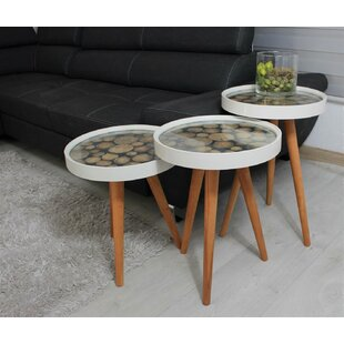 Richarson 3 Piece Nest Of Tables By Ebern Designs