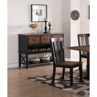 Whyalla Dual Tone Buffet Table