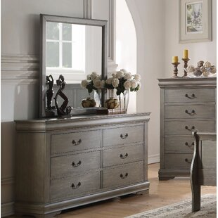 Darby Home Co Elim 6 Drawer Double Dresser w..