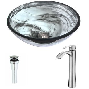 ANZZI Mezzo Glass Circular..
