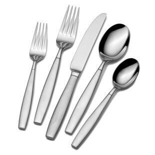 Gia Forged 20 Piece Flatware Set, Service for 4