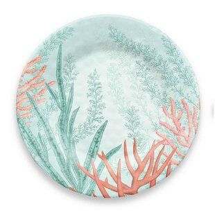 Canto Coral Reef Melamine Dinner Plate (Set of 6)