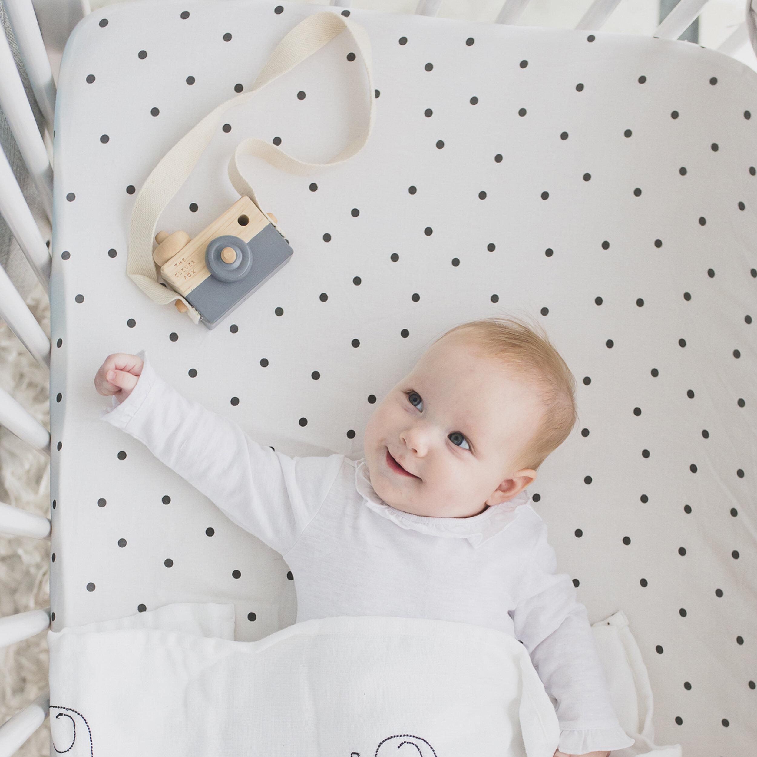 Harriet Bee Kegley 4 Piece Organic Cotton Fitted Crib Sheet Set Wayfair