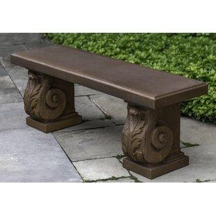 Fidelia Stone Garden Bench