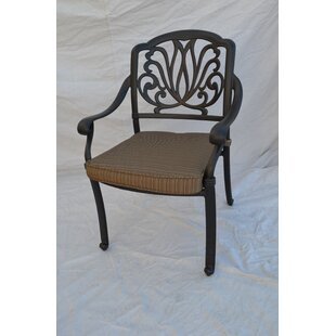Kristy Patio Dining Chair with Cushion