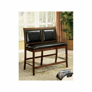 Schoenberger Wood Upholstered Bench