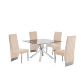 Moncton 5 Piece Dining Set by Orren Ellis