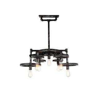Oder 7-Light Novelty Chandelier by CWI Lighting
