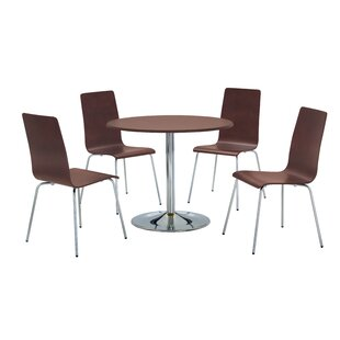 Nita Dining Set With 4 Chairs By 17 Stories
