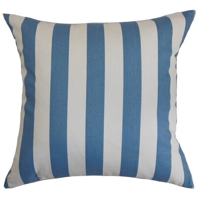 Birch Lane™ Heritage Knotts Indoor/Outdoor 100% Cotton Throw Pillow Color: Baby Blue, Size: 18 H x 18  W