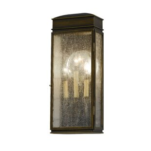 Great Price Barrie 3-Light Outdoor Flush Mount By Darby Home Co