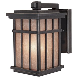 Read Reviews Tenleytown 1-Light Outdoor Wall Lantern By Bloomsbury Market