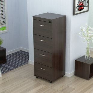 Ebern Designs Bayswater 4 Drawer Vertical File