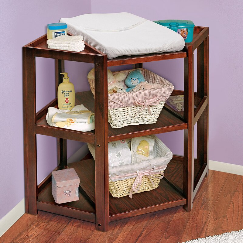 Merveilleux Zoomie Kids Carner Diaper Corner Baby Changing Table With Pad U0026 Reviews |  Wayfair