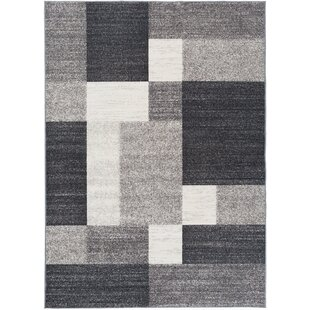 Read Reviews Pamplin Gray Area Rug By Wade Logan